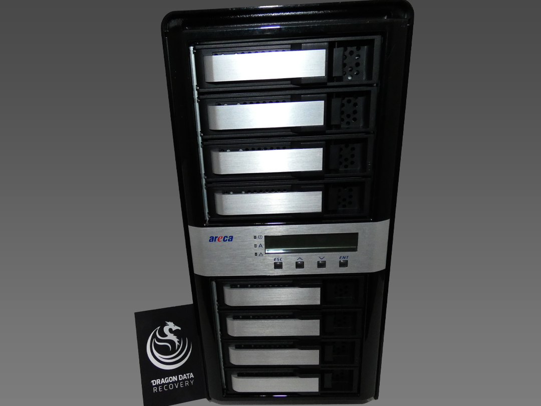 ARECA RAID Server Data Recovery ARC-8050T3-8 Thunderbolt, ARC-8050T3-4, ARC-8050T3-6, ARC-8050T3-12, ARC-8050T3-6M, RAID Data Recovery, Server Data Recovery